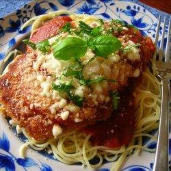 Chicken Parmesan Express recipe