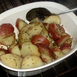Rosemary Potatoes - Microwave recipe