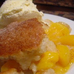 Fresh Peach Cobbler (Or Berry Cobbler) recipe