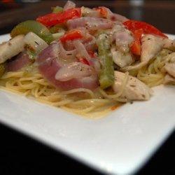 Olive Garden Chicken Scampi  Yummy! - Copycat recipe