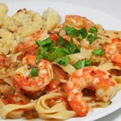 Easy Spicy Shrimp Pasta  - Low Fat recipe
