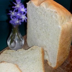White Machine Bread recipe