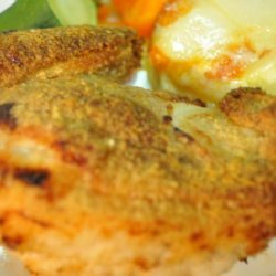 Chicken Thighs Oven Fried recipe