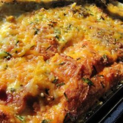 Cheese And Sausage Breakfast Casserole recipe