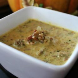 Low Carb Pumpkin Sausage Soup recipe