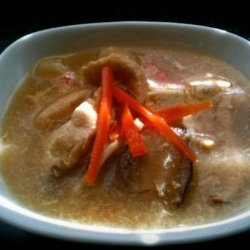 Chinese Hot and Sour Pork Soup recipe