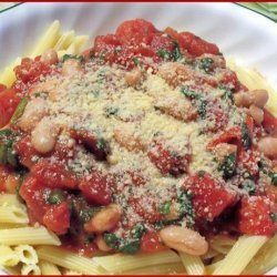 Penne With Cannellini Beans recipe