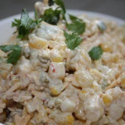 Best  Mexican Cheese Corn Dip Ever recipe