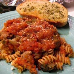 Fresh Tomato Spaghetti Sauce recipe