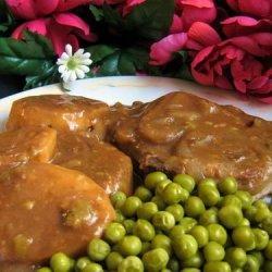 Tender Pork Chops in Gravy recipe
