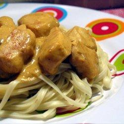 Chicken in Peanut Curry recipe