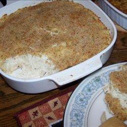 Make Ahead Mashed Potato Casserole recipe