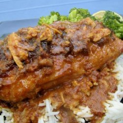 Crock Pot Peanut Chicken recipe