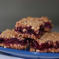 Blueberry Picnic Bars recipe