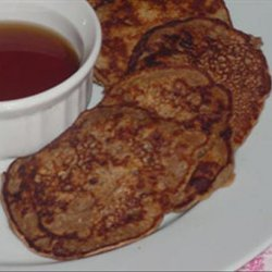 Low Fat Whole Wheat Banana Pancakes recipe