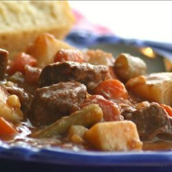 Kelly's Southwestern Beef Stew recipe