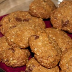Chocolate Chip or M & M Oatmeal Cookies recipe