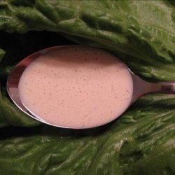 Blender Caesar Salad Dressing recipe