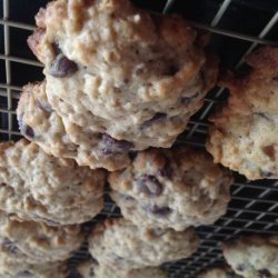 Easy Chocolate Chip Oatmeal Cookies recipe