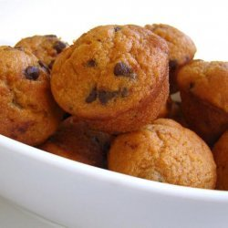 Lite or Light Pumpkin Chocolate Chip Muffins recipe