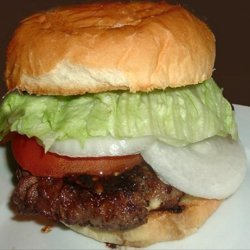 Grilled Teriyaki Burgers recipe