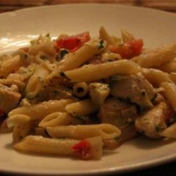 Greek Penne and Chicken recipe