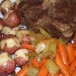Beef Pot Roast (In Pot, Oven or Slow Cooker) Another One! recipe