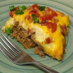 Bacon Cheeseburger Potato Pie recipe
