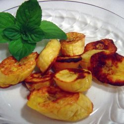 Oven Baked Sweet Plantains recipe