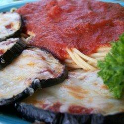 Reduced-Fat Eggplant (Aubergine) Parmesan recipe
