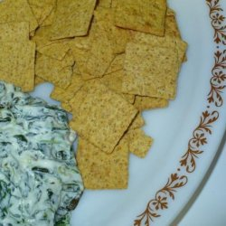 Hot Spinach and Artichoke Dip (Lower-Than-Normal-Fat) recipe
