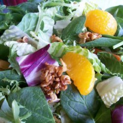 The BEST Spinach Salad recipe