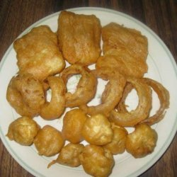 Beer Battered Fish (For Fish N'chips) recipe