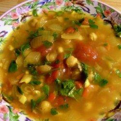 Hasa Al Hummus -- Moroccan Chickpea Soup recipe