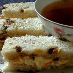 Carrot  Cake  Tea Sandwiches recipe