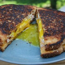 Fried Egg and Cheese Sandwich recipe