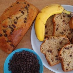 Chocolaty Peanut Butter Banana Bread recipe