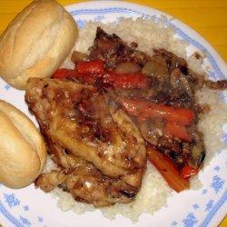 Coq Au Vin (Chicken Braised in Red Wine) recipe