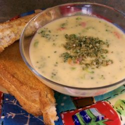 Wisconsin Broccoli-Cheddar Cheese Soup recipe