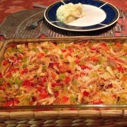 Baked Arroz Con Pollo recipe