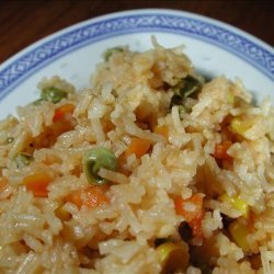 Microwave Fried Rice recipe