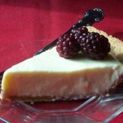 Lemon Cream Cheese Pie with Berries recipe