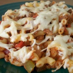 Beef, Macaroni and Tomato Casserole recipe