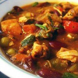 Mexican Chicken Chili Soup recipe