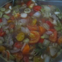 Crock Pot Beef Vegetable Soup recipe