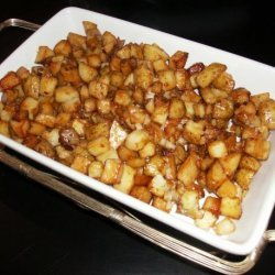 Diced Potatoes in Soy Sauce recipe