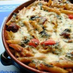 Make Ahead Italian Sausage and Pasta Bake recipe