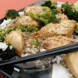 Chicken and Broccoli Skillet Stir-Fry recipe
