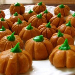 Peanut Butter Pumpkins recipe