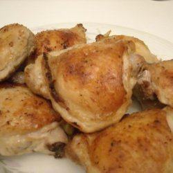 Garlic & Lemon Roast Chicken Thighs recipe